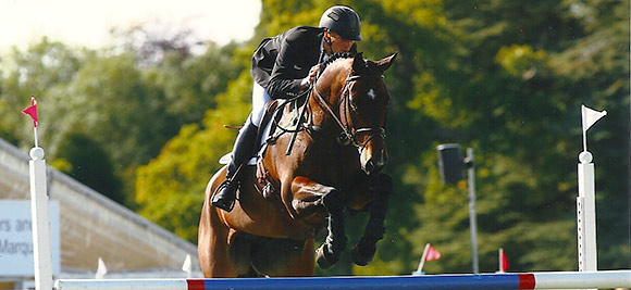 Clark Montgomery on Loughan Glen - Show Jumping